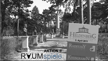 Aktion II - 3. April 2011 Heldenberg bei Kleinwetzdorf