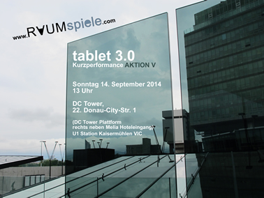 RAUMspiele - Aktion V - tablet 3.0
